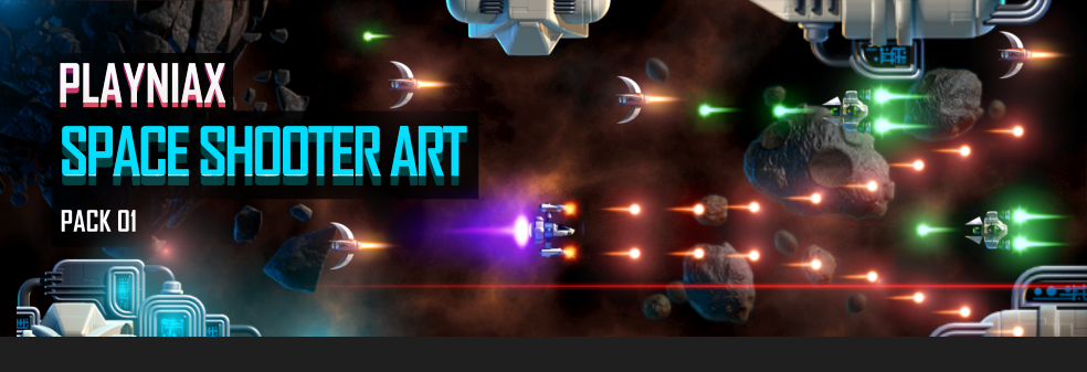 Space Shooter Art Pack