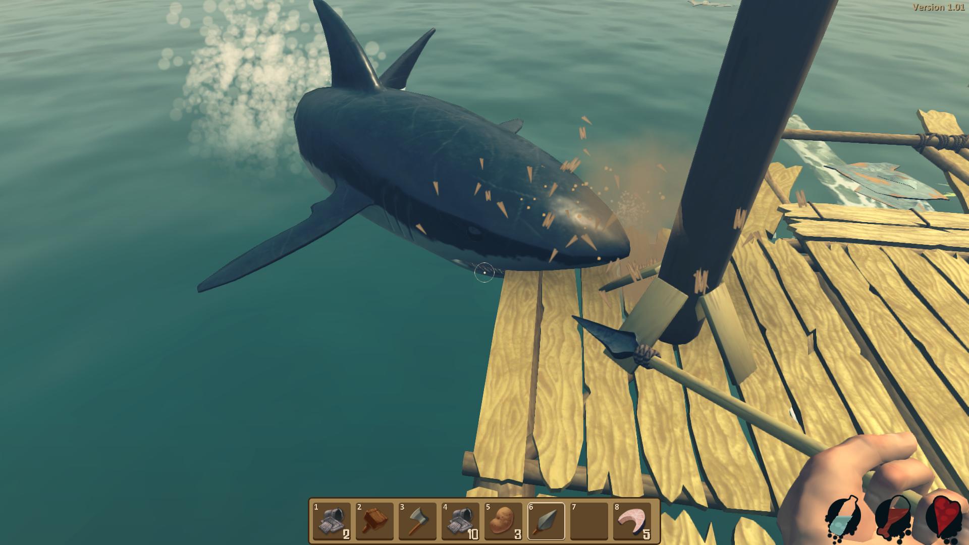 Free Download Raft Survival Game Full Version - Ronan Elektron
