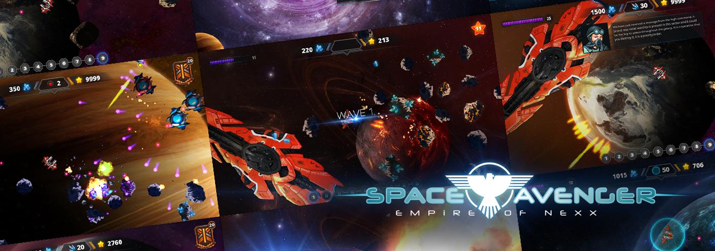 Space Avenger - Empire Of Nexx