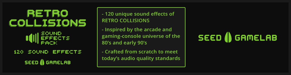 RETRO COLLISIONS - SOUND EFFECTS PACK