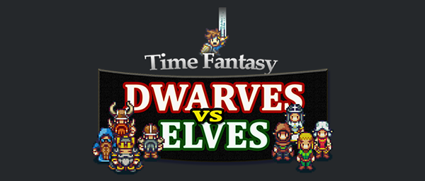 Dwarves vs Elves Sprite Pack