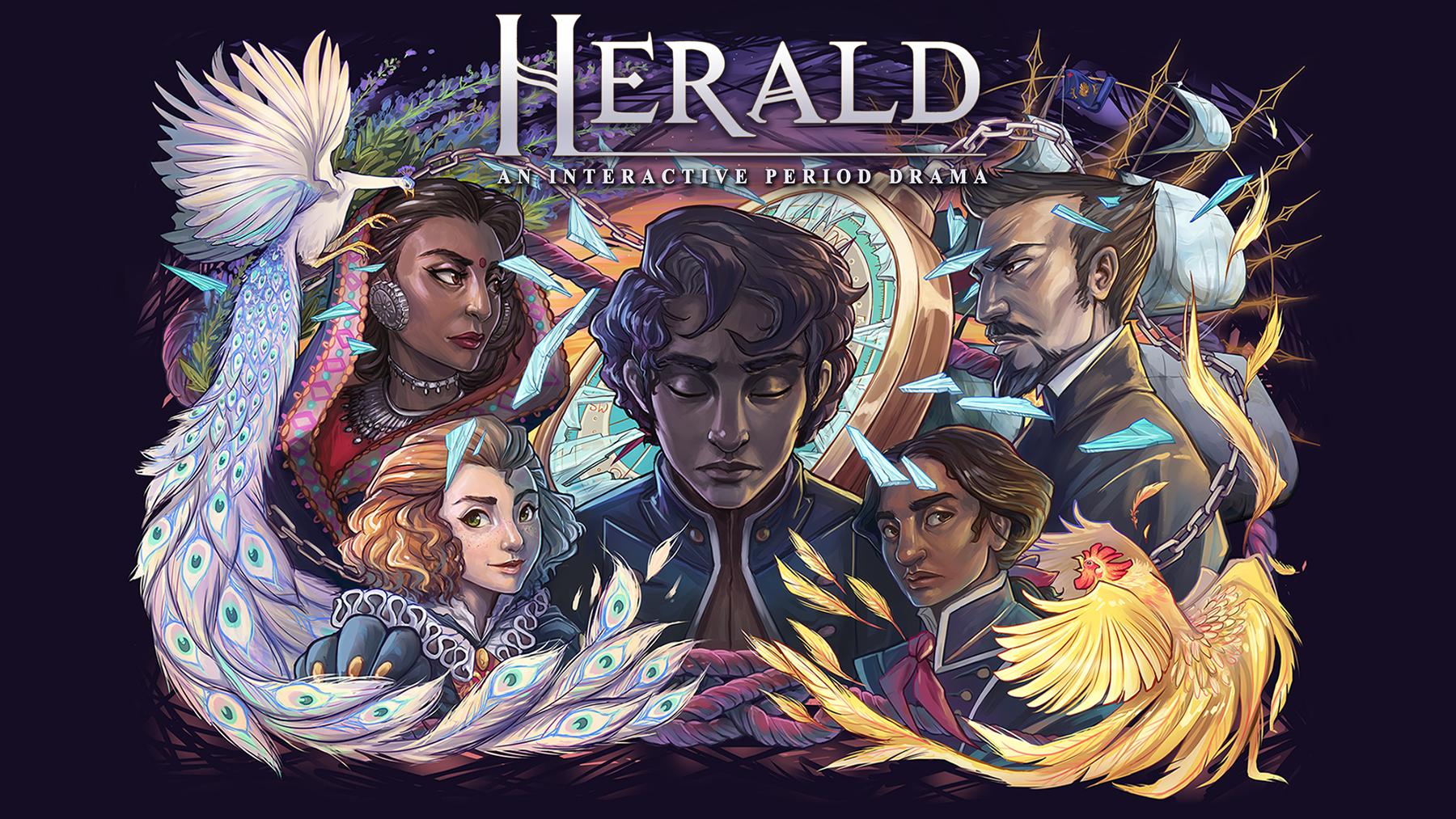 Herald - An Interactive Period Drama - Book I & II