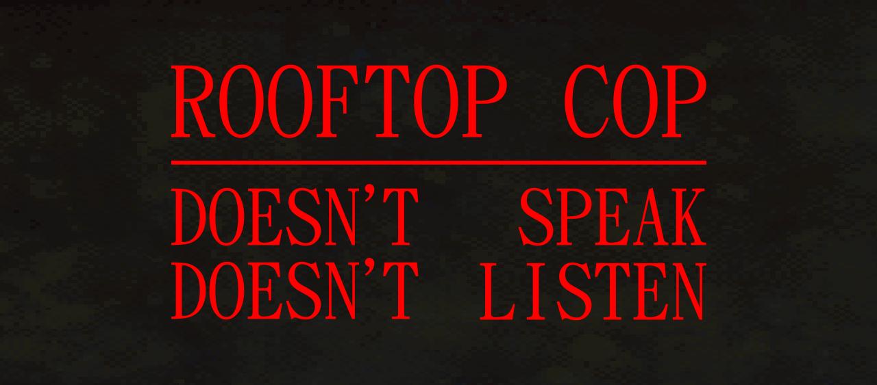 Rooftop Cop
