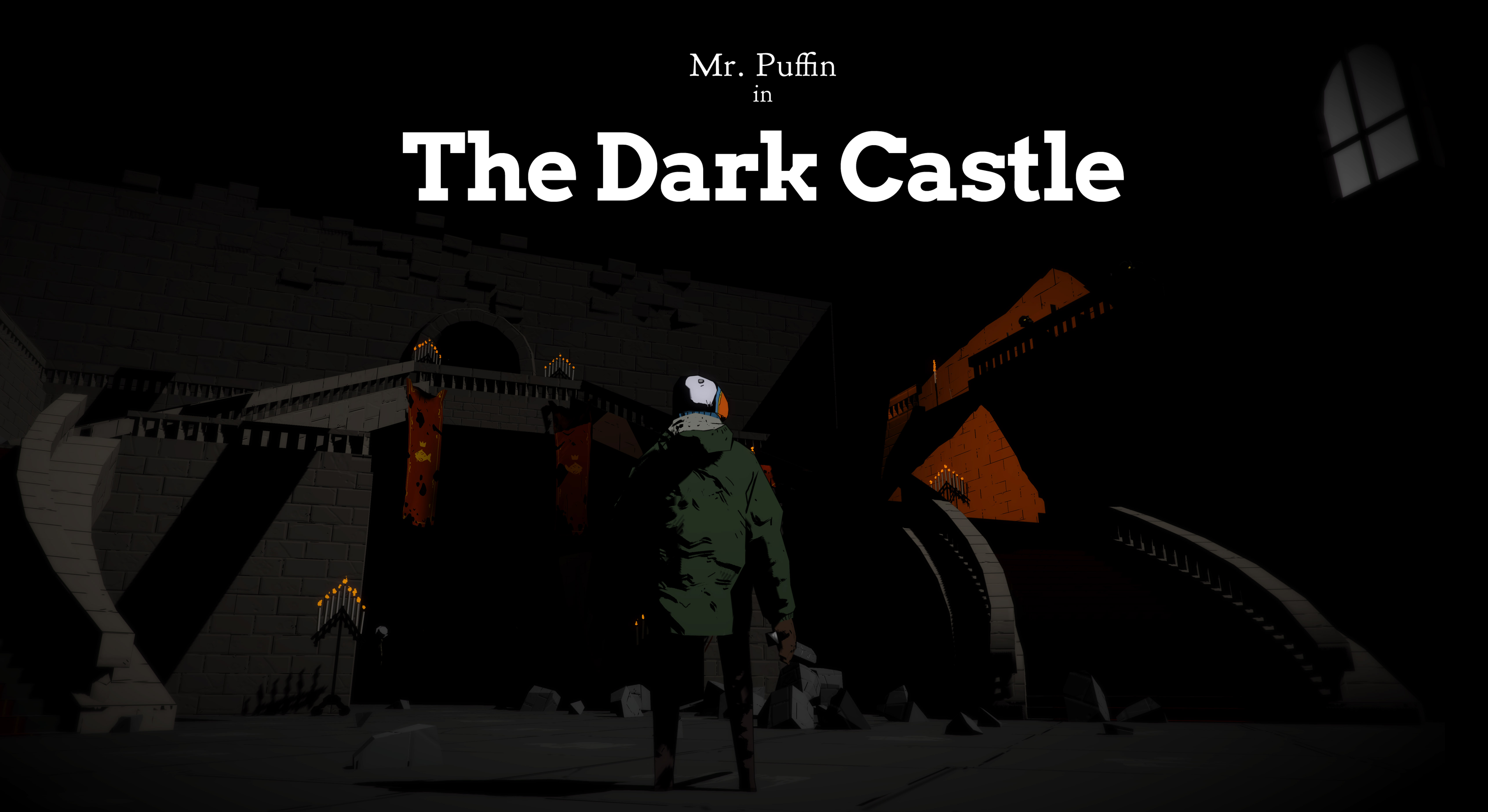 Mr. Puffin in The Dark Castle