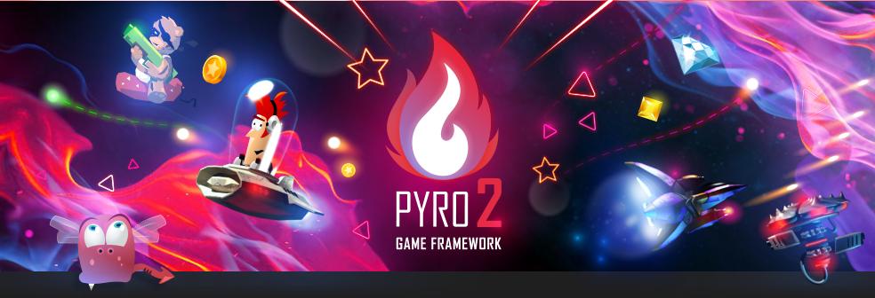 Pyro 2 - The 2D Game Framework