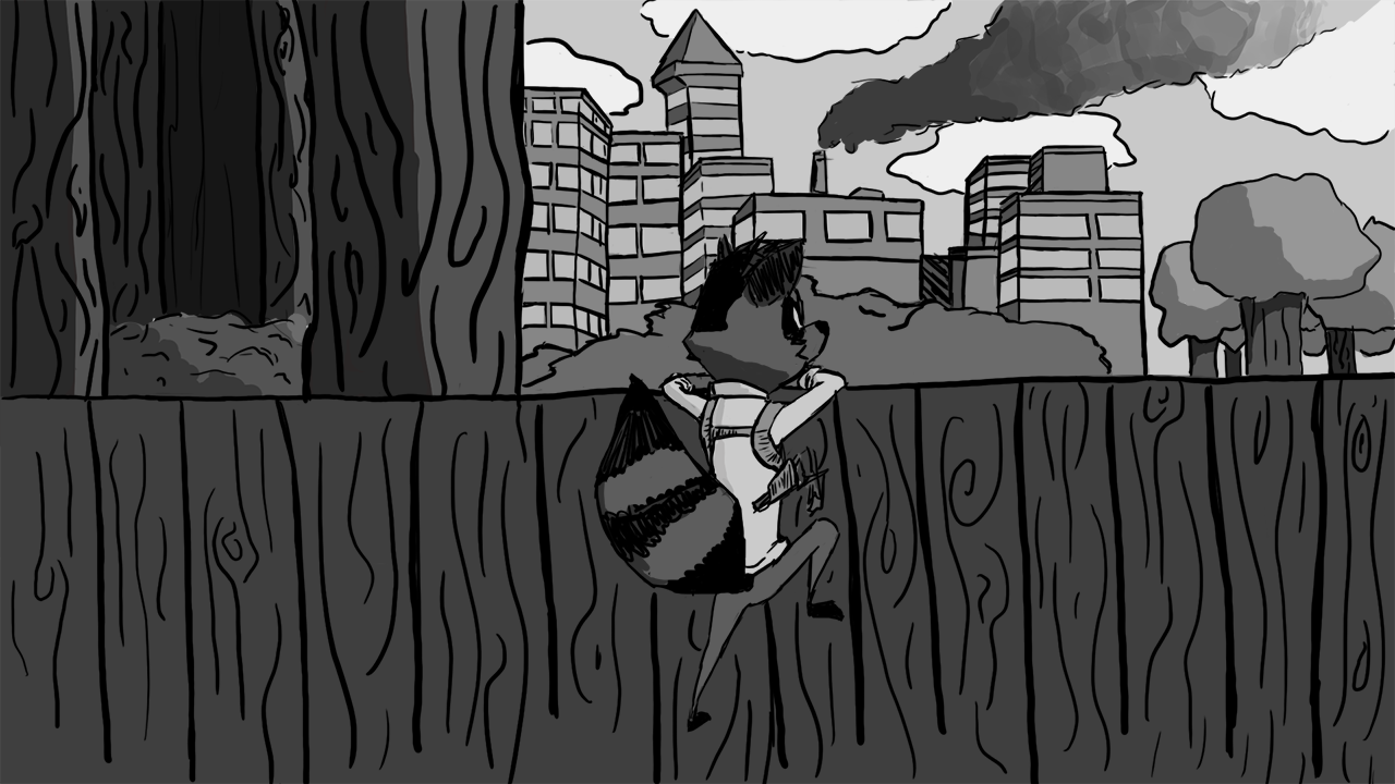 Remy Raccoon and The Squirrelly Tale