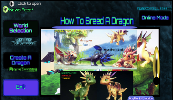 HOW TO BREED A DRAGON (Dragon Creation (Basic access)