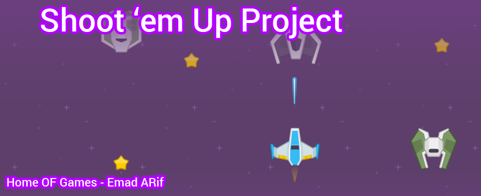 Shoot 'em Up Project For Unity