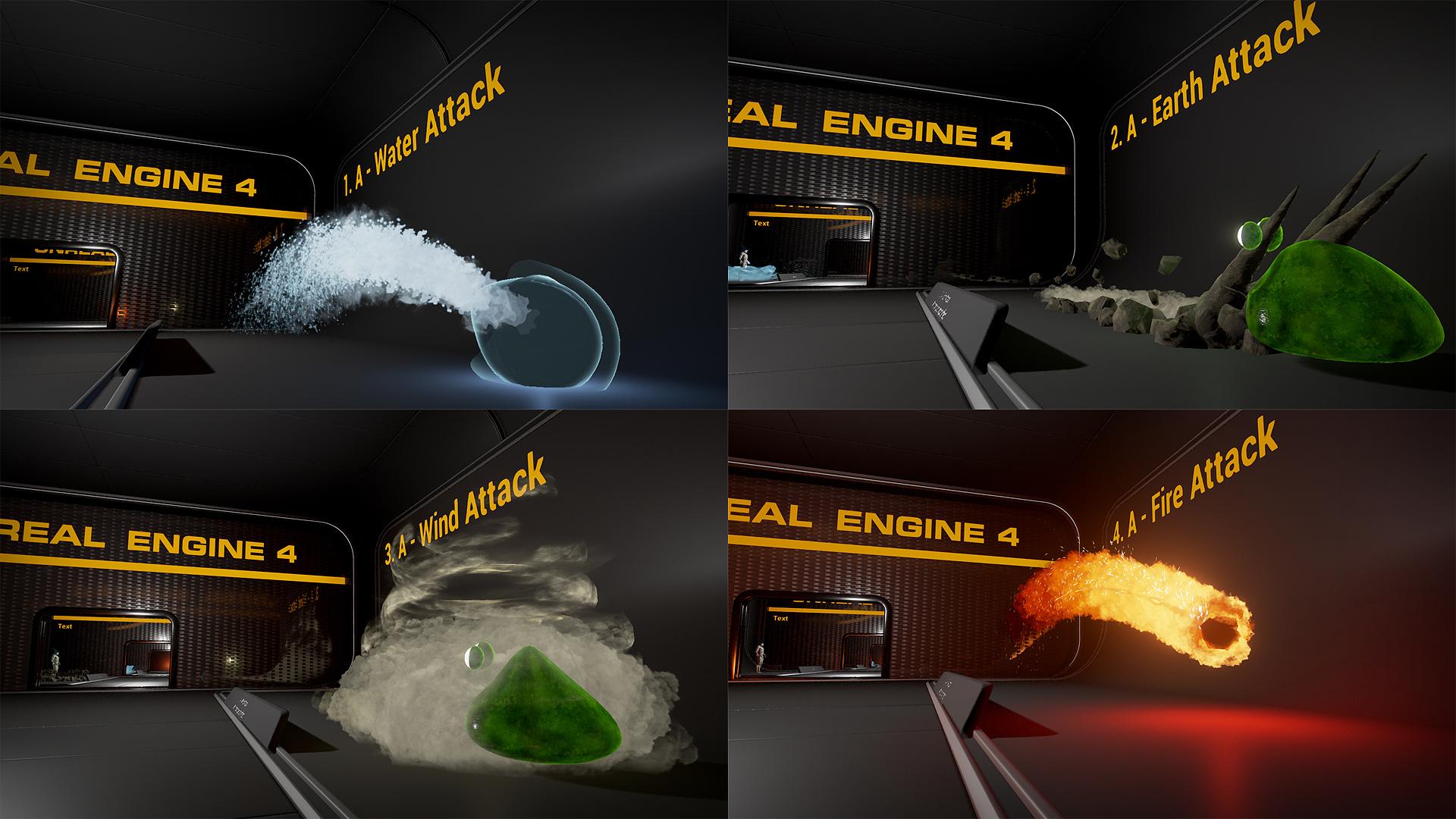 UE4 - Luos's Four Elements