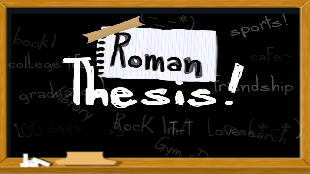 RomanThesis(DEMO)