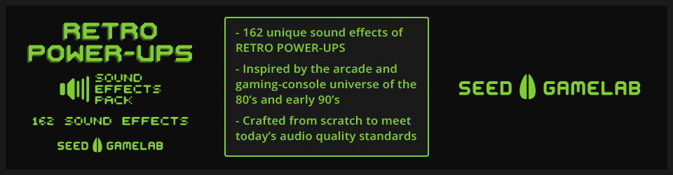 RETRO POWER-UPS - SOUND EFFECTS PACK