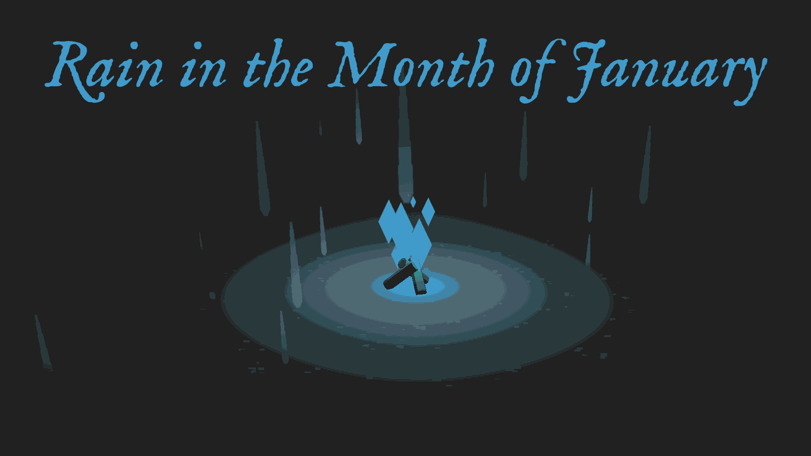 Rain in the Month of January