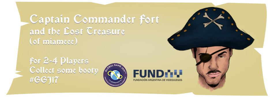 Captain Commander Fort and the Lost Treasure