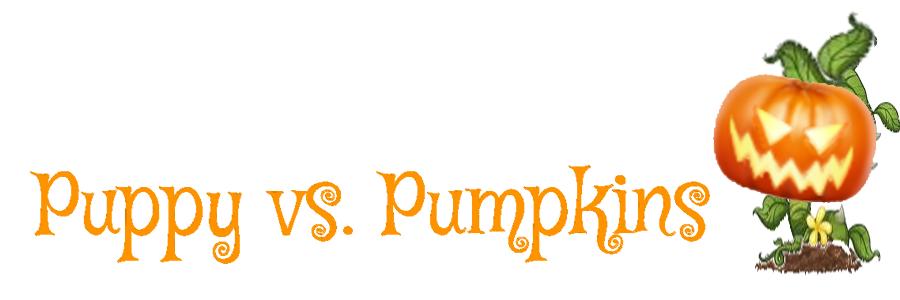 Puppy vs. Pumpkins