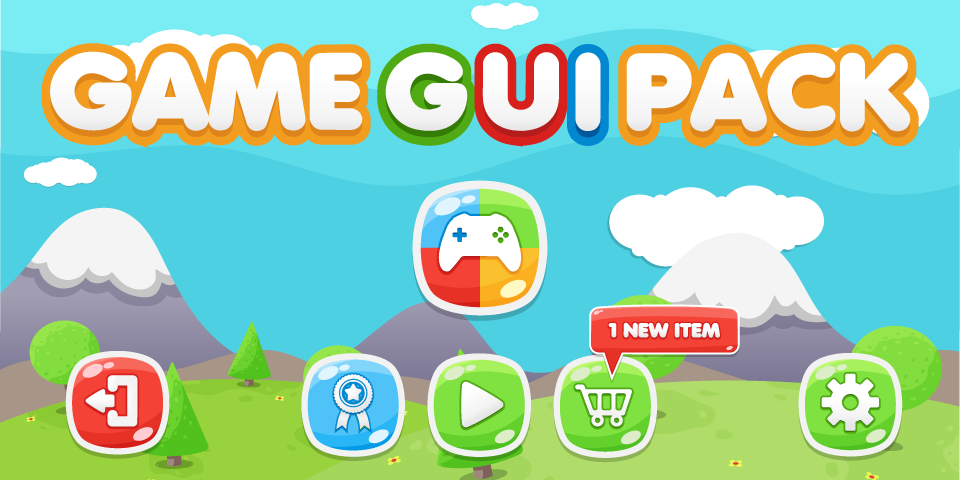 Game GUI Pack 1