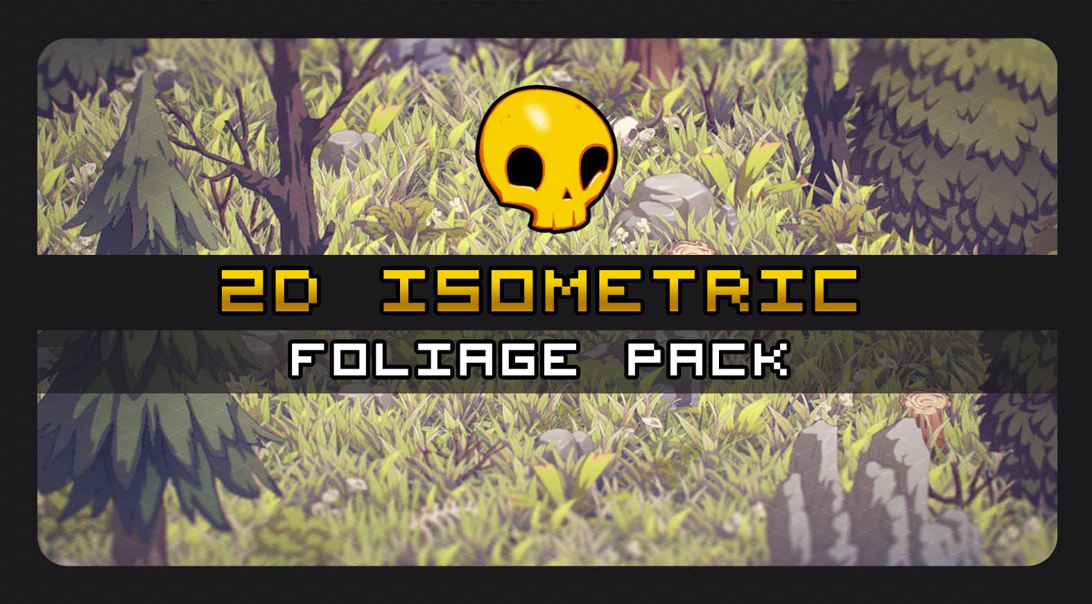 2D Isometric Foliage Pack