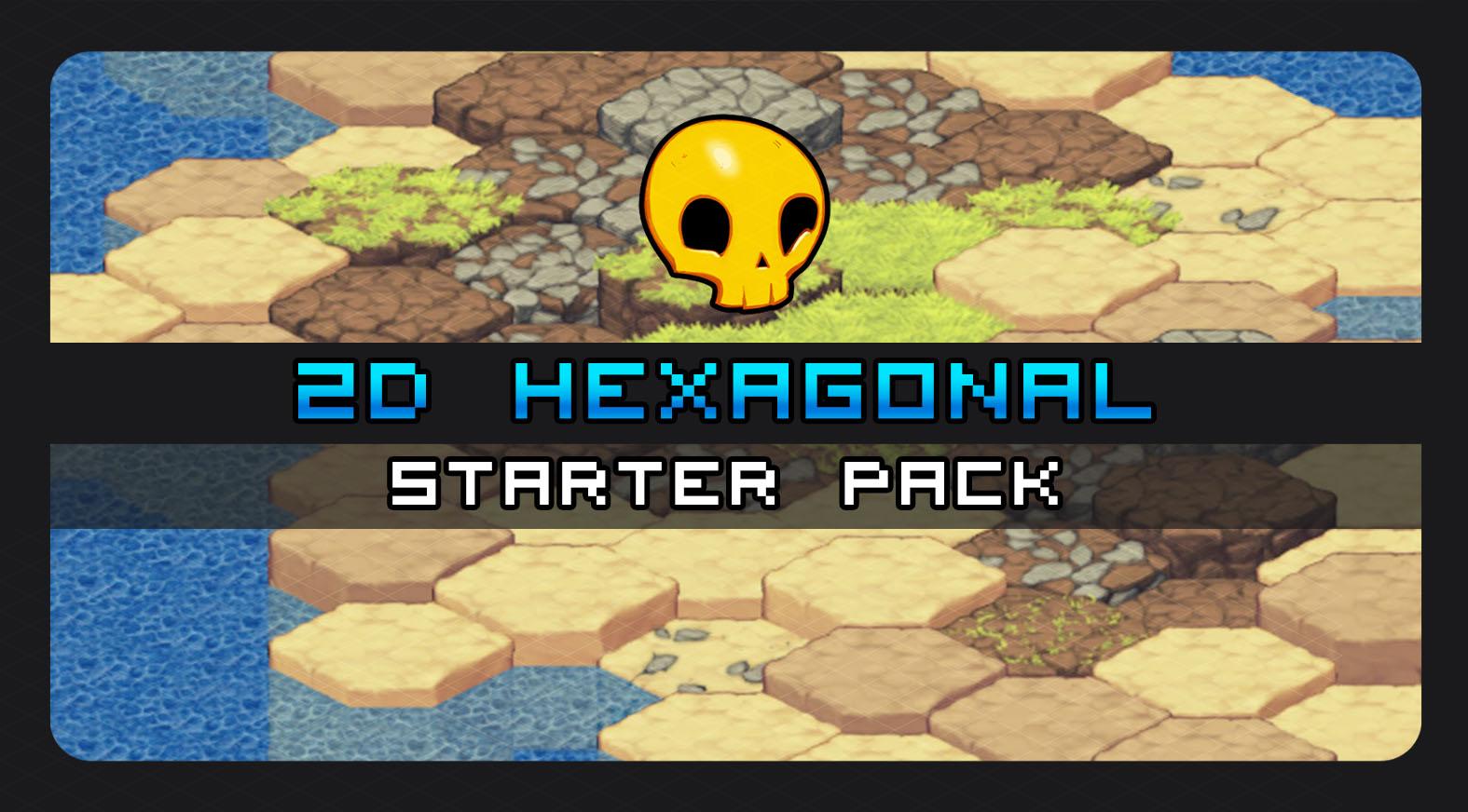 2D Hexagonal Tile Starter Pack