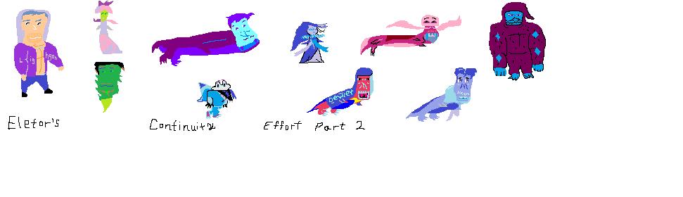 eletor's three part effort