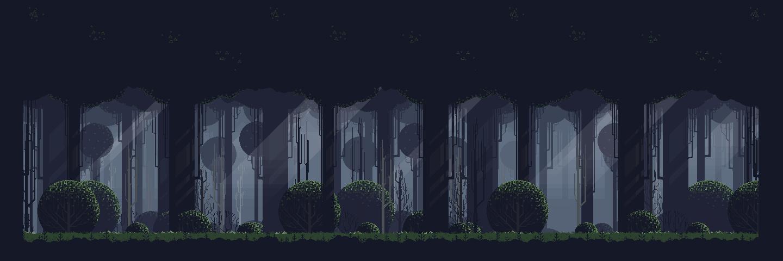 Free Pixel Art Forest