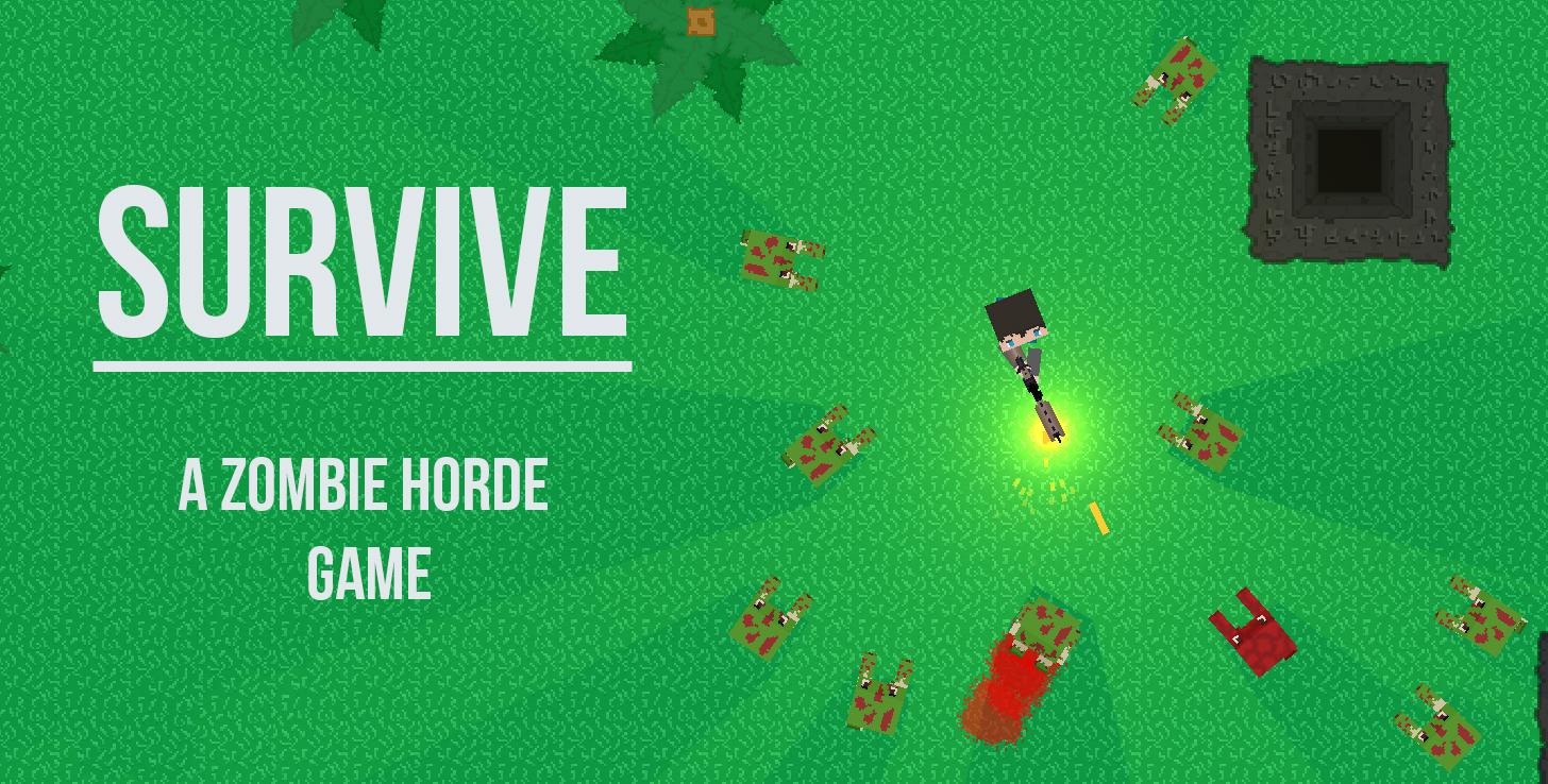 Survive: A Top-down Zombie Defense Game