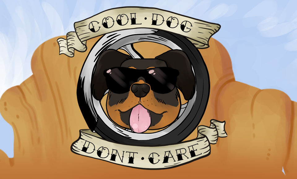 Cool Dog Don't Care
