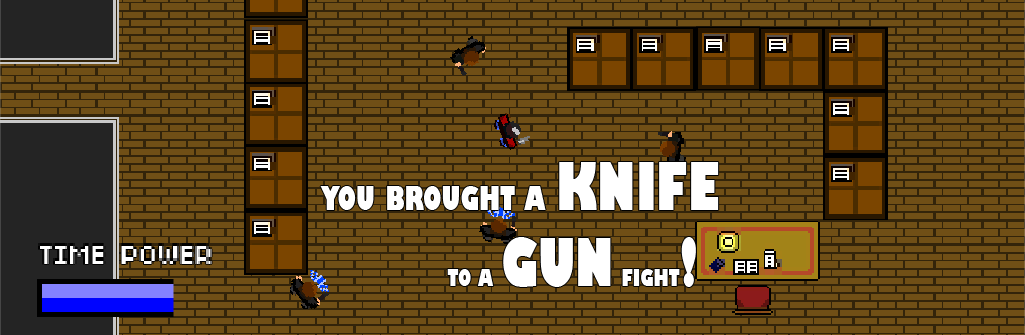 You Brought A Knife To A Gun Fight!