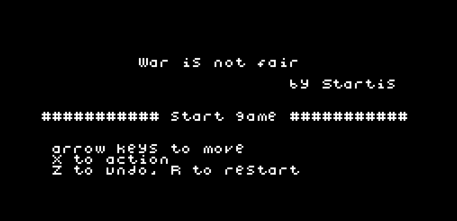 War is not fair