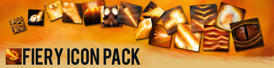 Fiery Icon Pack