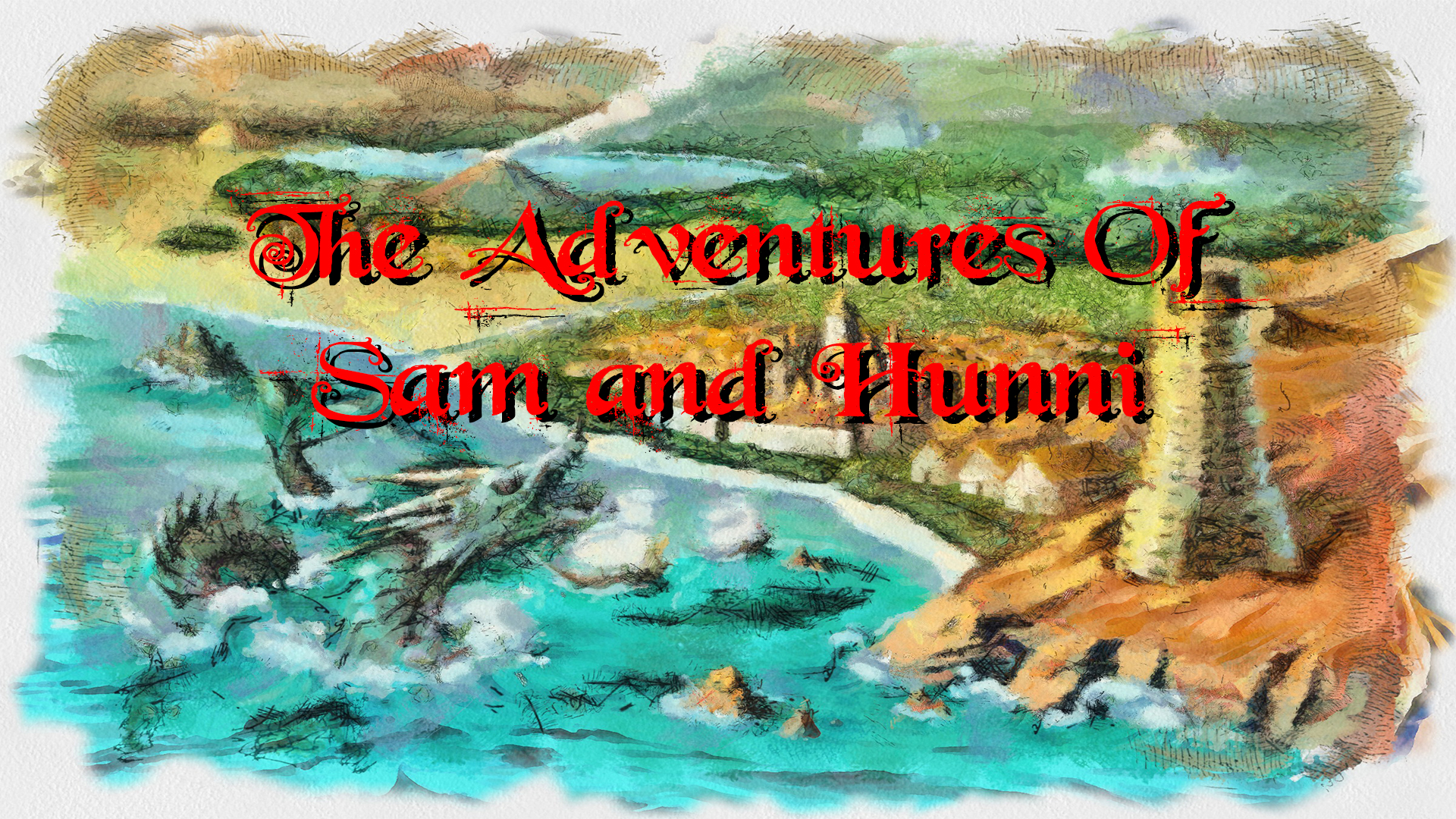 The Adventures Of Sam And Hunni RPG