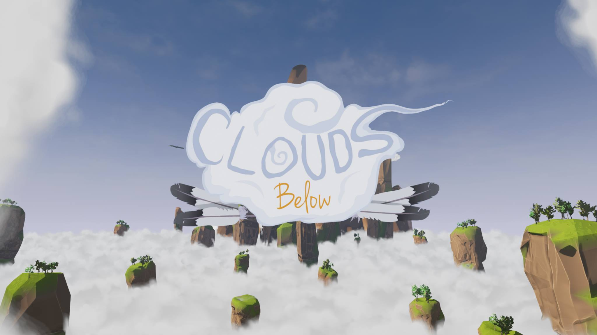 Clouds Below