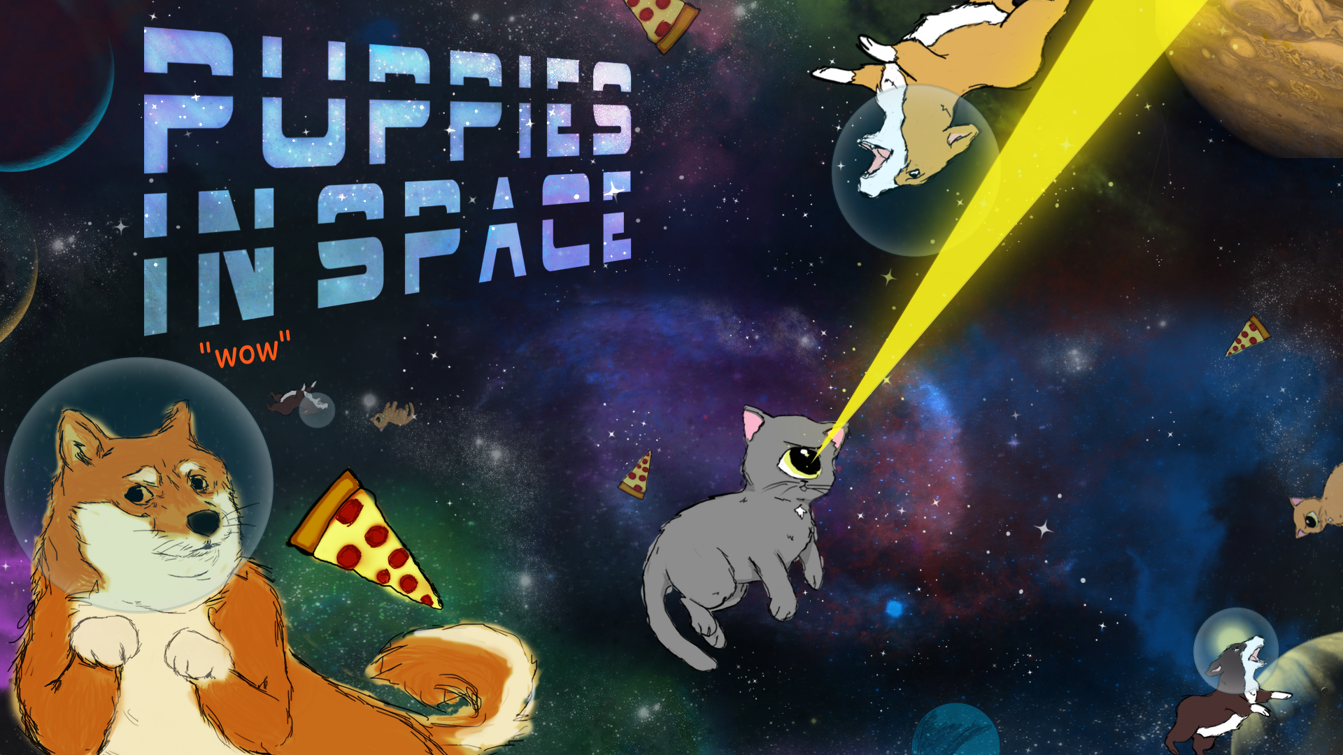 Puppies In Space