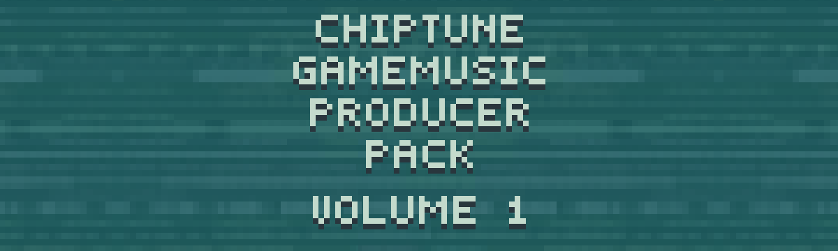 Chiptune Game Music Producer Pack - Volume 1
