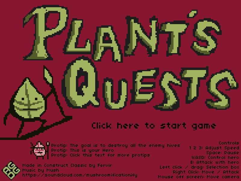 Plant's Quests