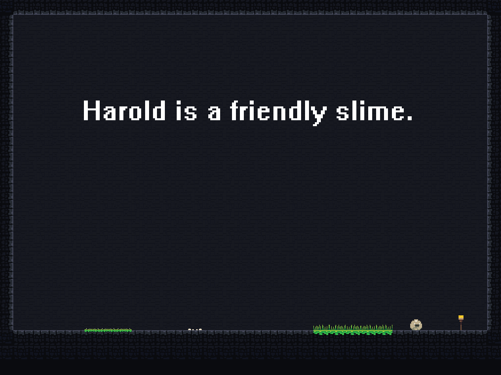 Harold The Friendly Slime