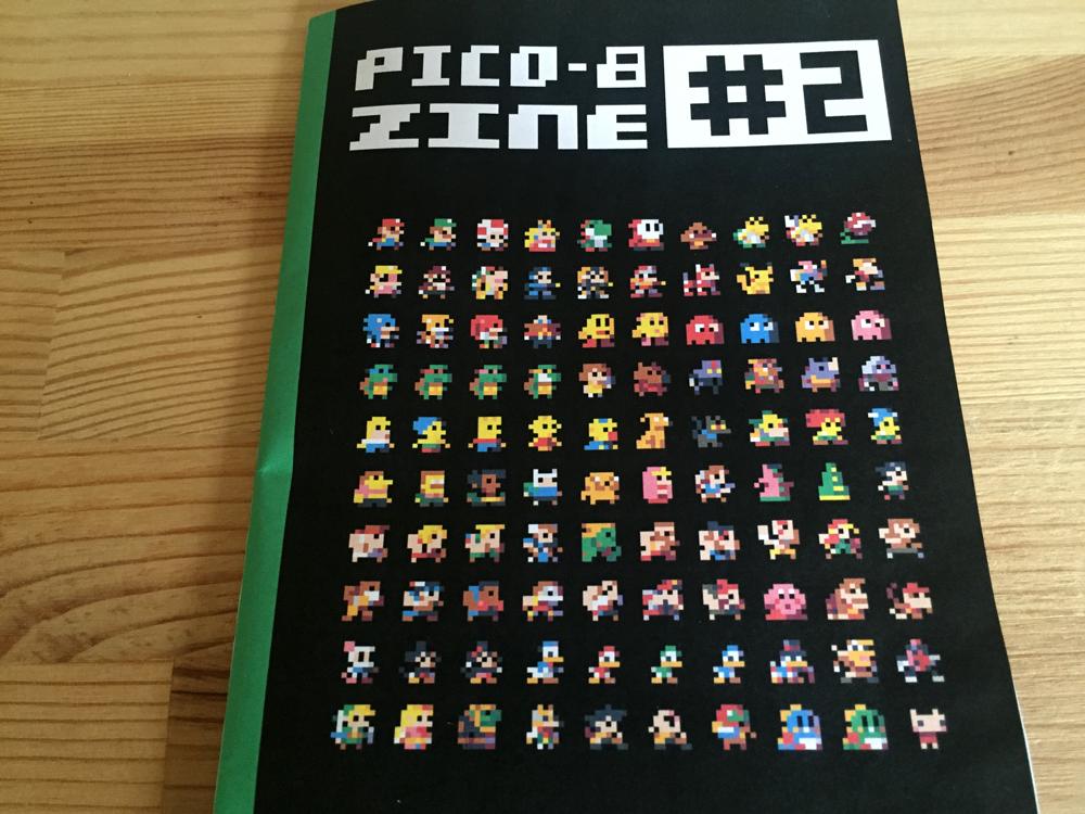 Pico-8 Fanzine  #2