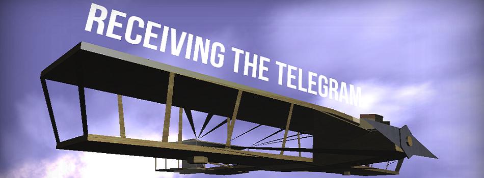 Receiving The Telegram