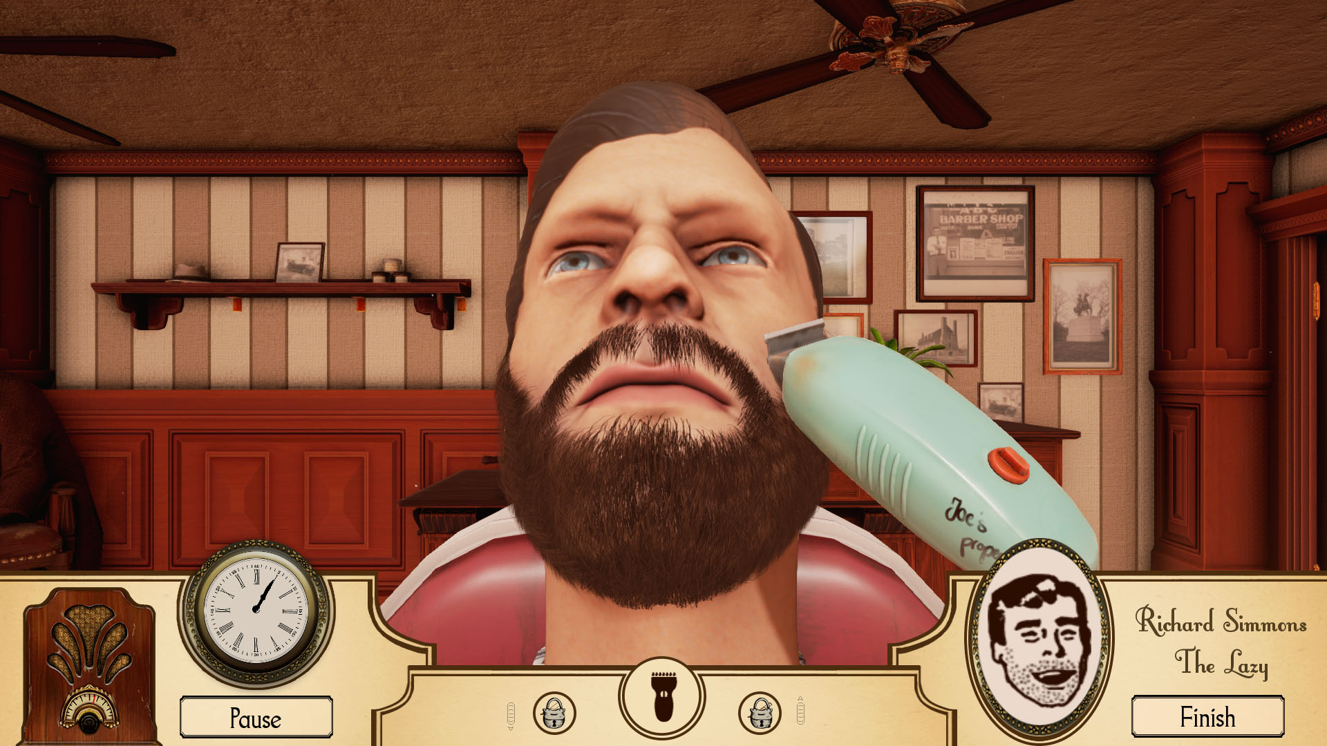 The Barbershop Game