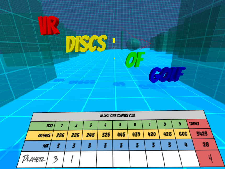 VR Discs Of Golf