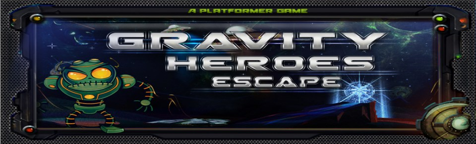 Gravity Heroes Escape 2D