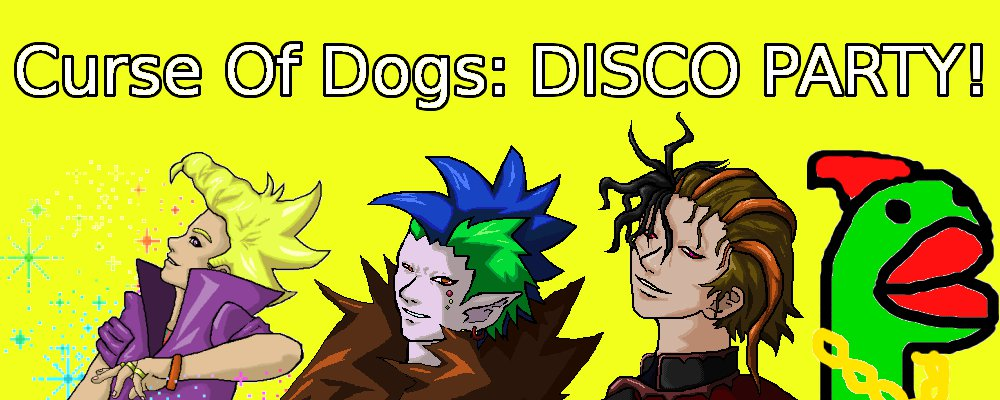 Curse of Dogs: Disco Party