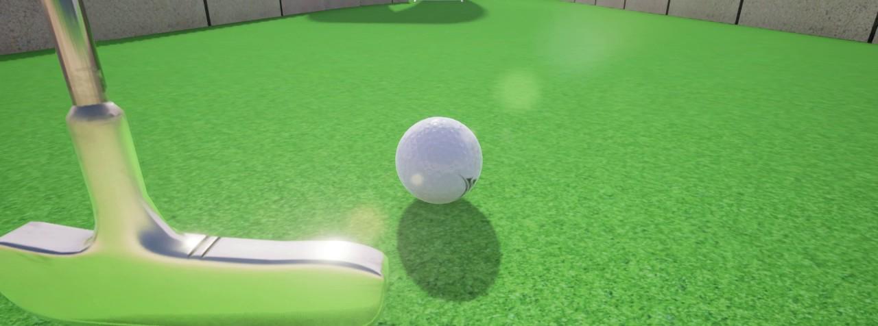 Minigolf for Leap Motion
