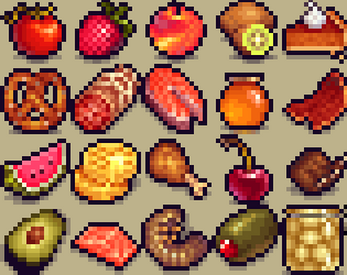 Free Pixel Food! by Henry Software View Icon 16x16 Png