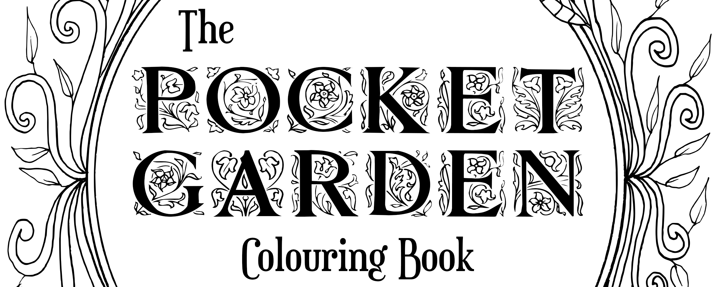 The Pocket Garden Colouring Pack