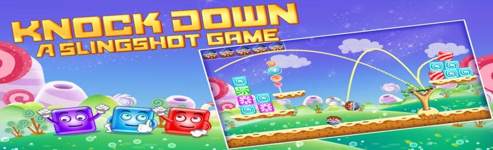 Knock Down : A Slingshot Game
