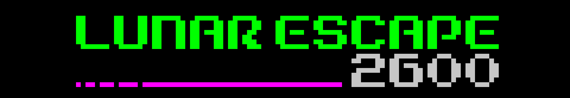 Lunar Escape 2600