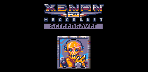 ScreenSaverJam - Xenon Megablast!