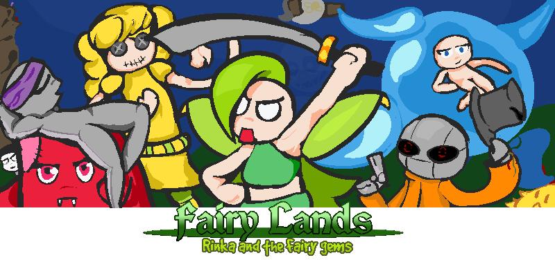 Fairy Lands: Rinka and the fairy gems.