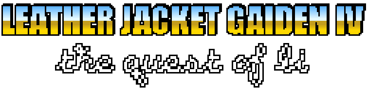 Leather Jacket Gaiden IV