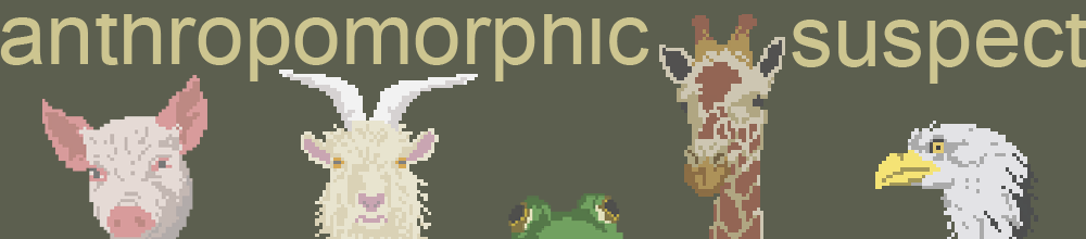 anthropomorphic suspect