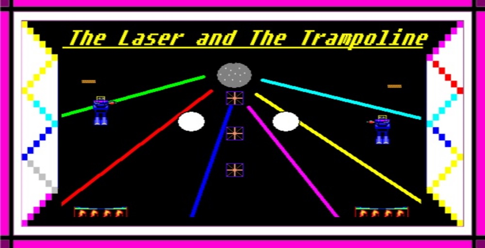 The Laser and The Trampoline